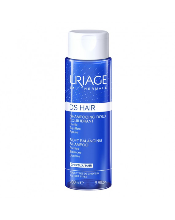 URIAGE DS HAIR CHAMPU SUAVE REGULADOR 200 ML