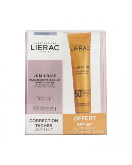 LIERAC LUMILOGIE DIA Y NOCHE + SPF50 COLOR 40 ML