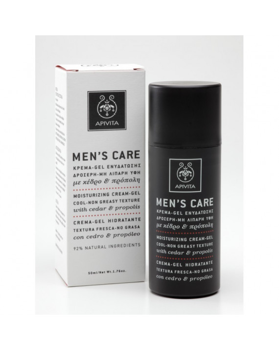 APIVITA MENS CARE GEL CREMA HIDRATANTE 50 ML
